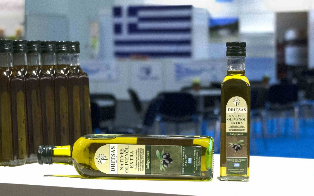 Cold temperatures but a 'warm' reception for DRITSAS olive oil at Green Week Berlin 2014!