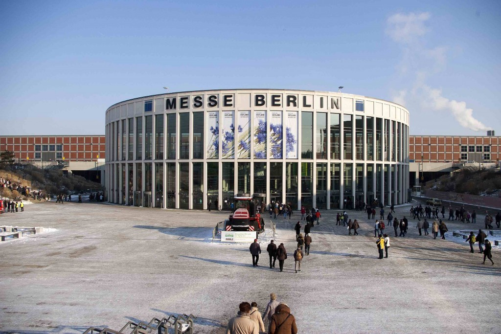 Thousands of visitors defy the cold to visit Green Week at Messe Berlin exhibition centre
