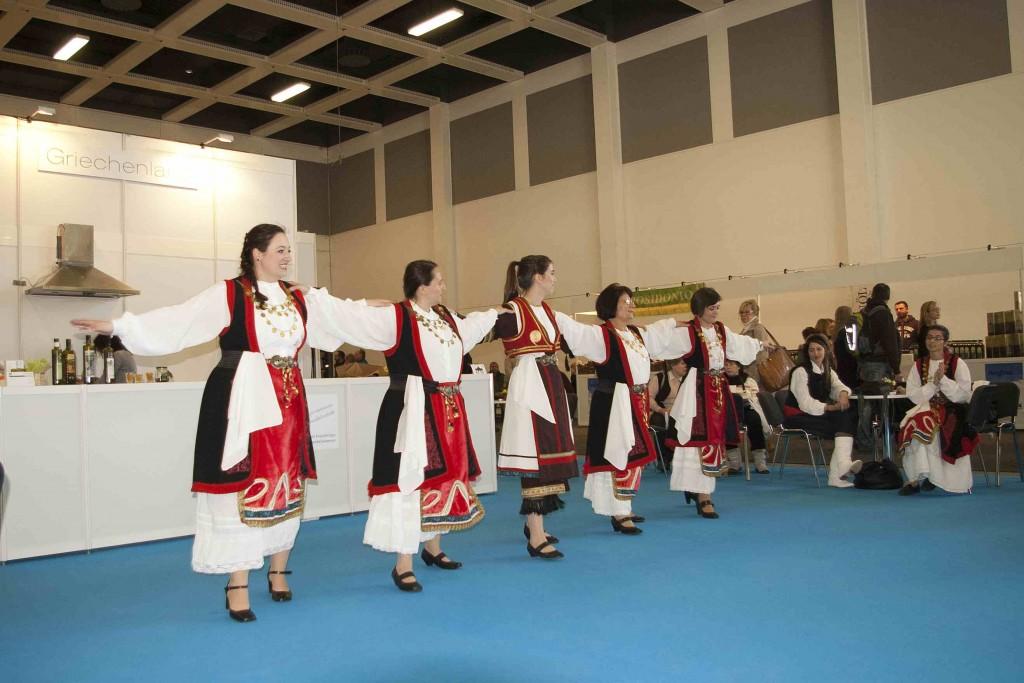 Greek dancing at Green Week Berlin 2014